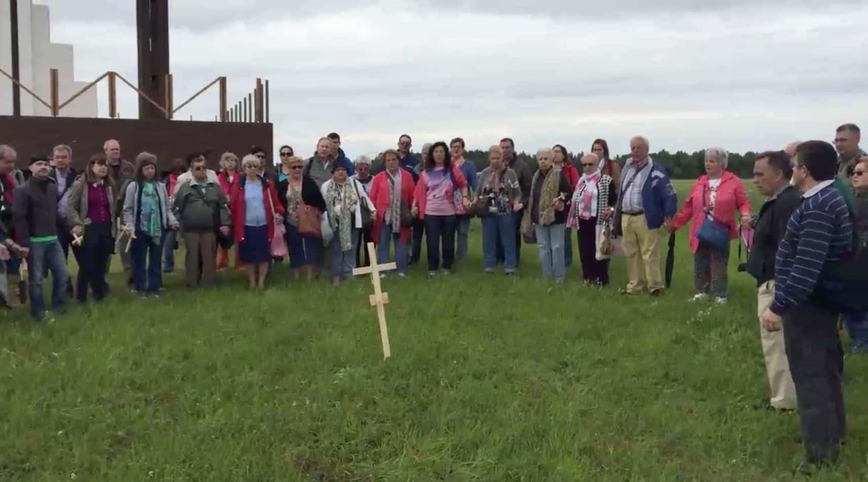 Oración en la Colina de las Cruces